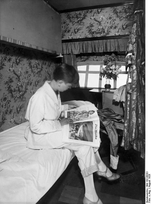 В каюте август 1929