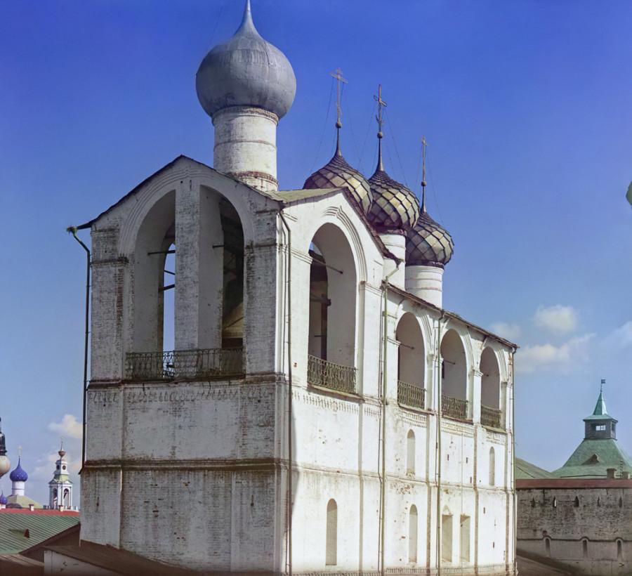 Ростов Великий Колокольня Кремля (построена митрополитом Ионою). [1911 год]
