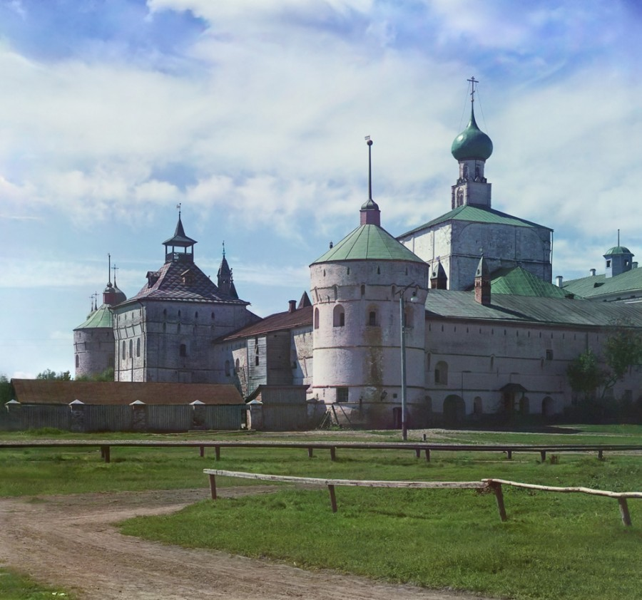 Ростов Великий Кремль с северо-востока. [1911 год]