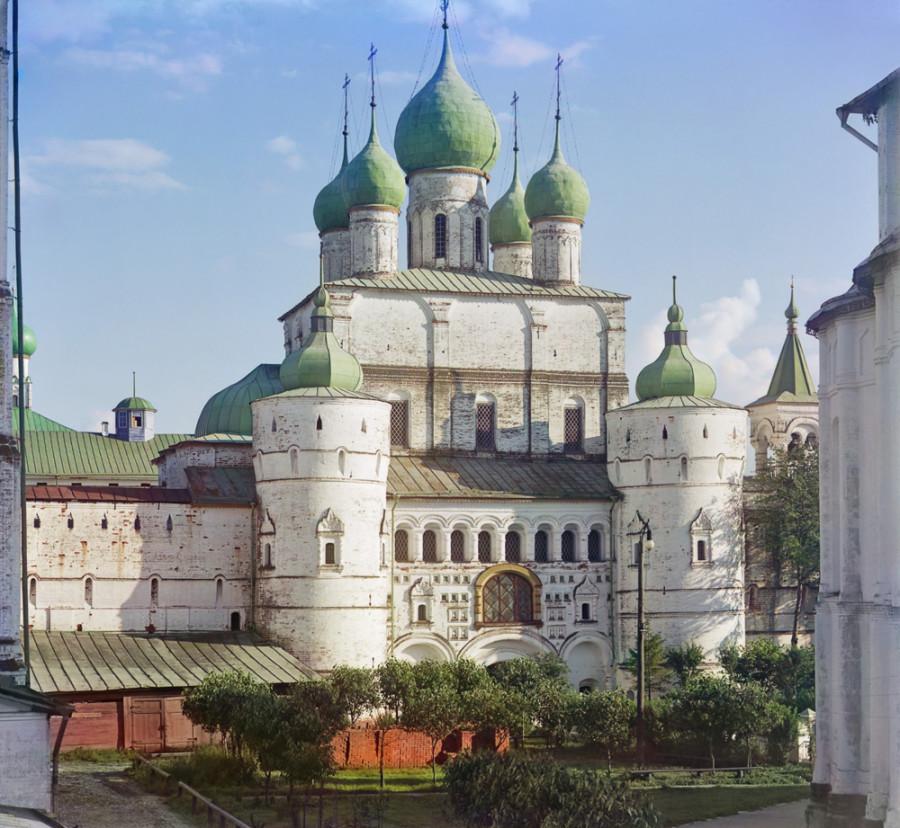 Ростов Великий Церковь Воскресения Христова в Кремле. [1911 год]