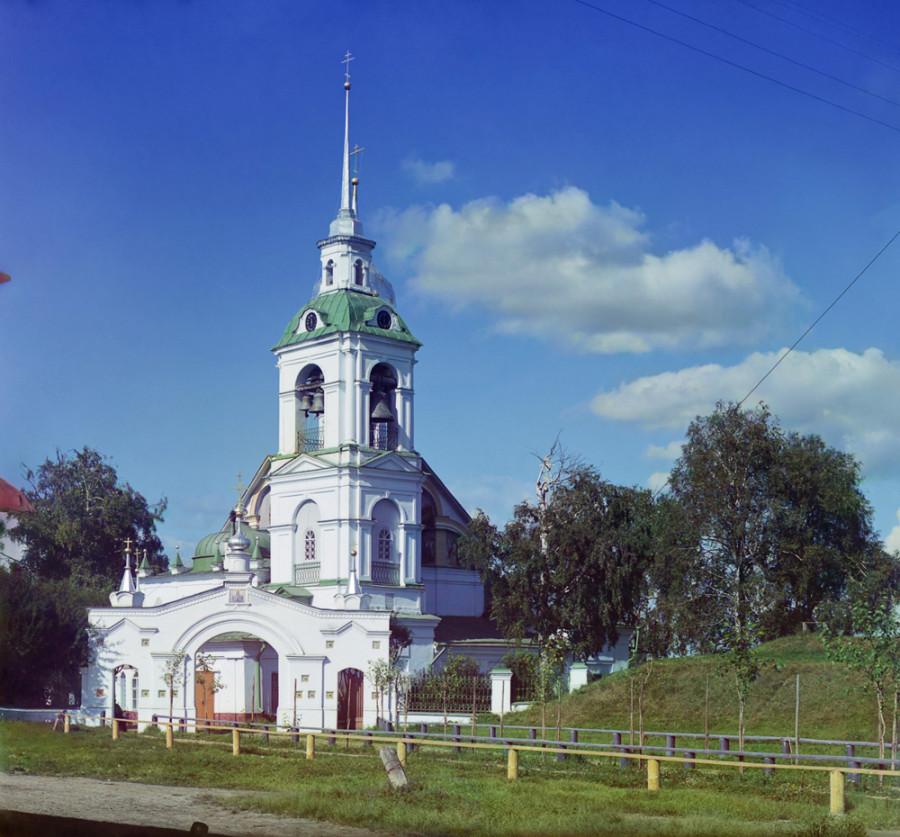 Ростов Великий Церковь Исидора Блаженного (Вознесения). [1911 год]