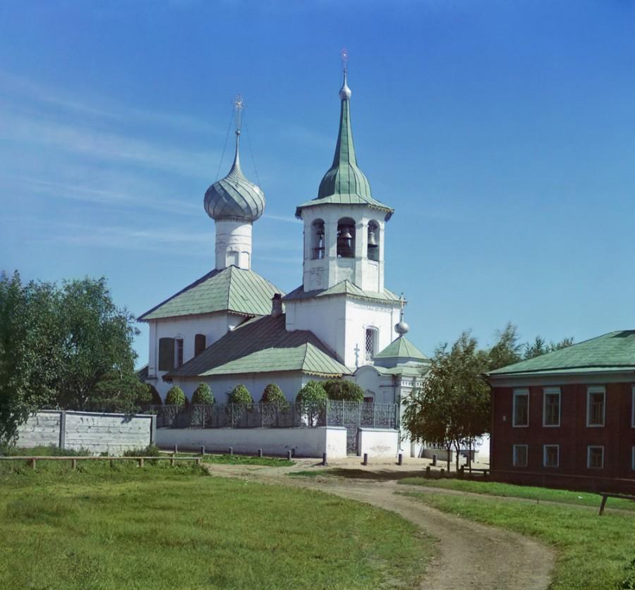 Ростов Великий Церковь Николая Чудотворца на Подозерье. [1911 год]