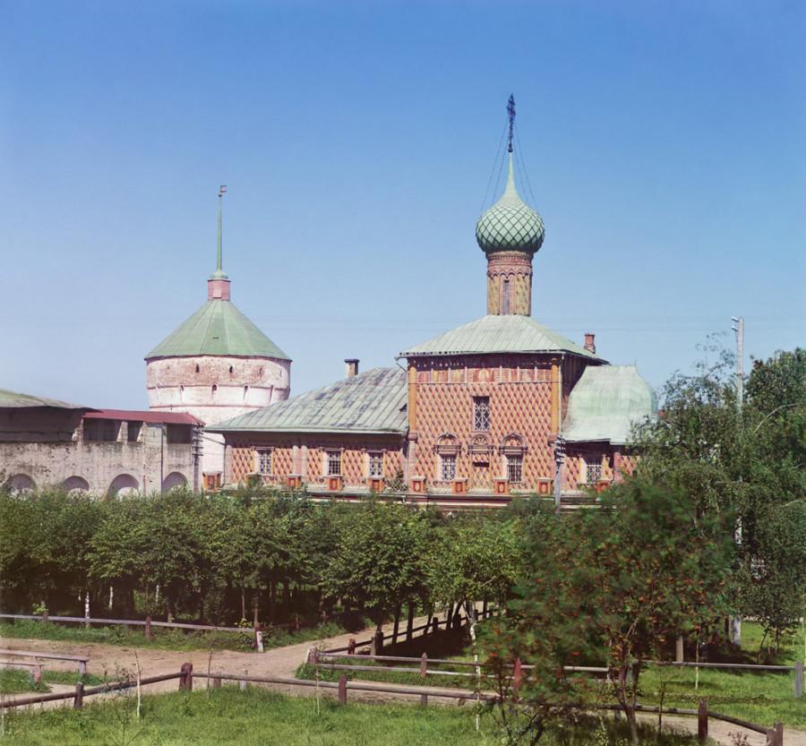 Ростов Великий Церковь Одигитрии Божией Матери в Кремле. [1911 год]
