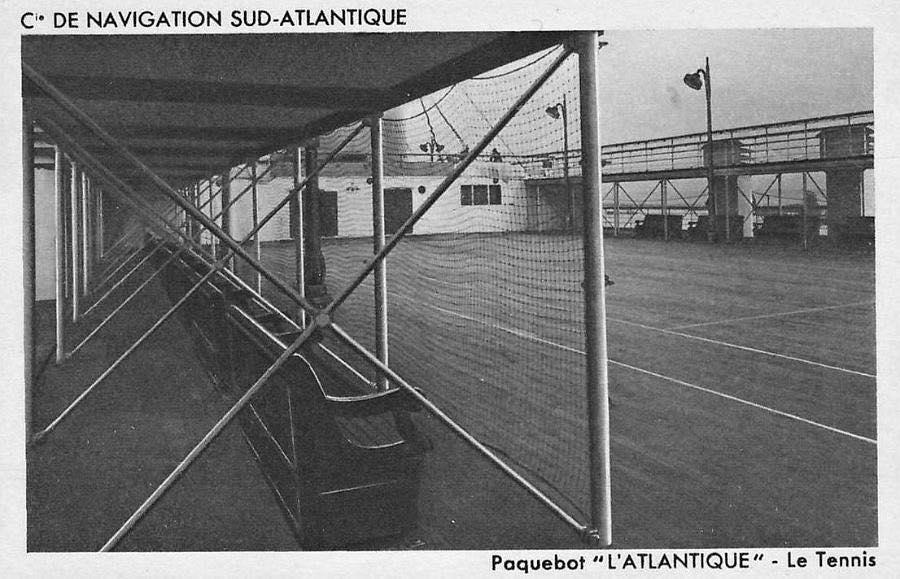 L'Atlantique 3 Теннисный корт