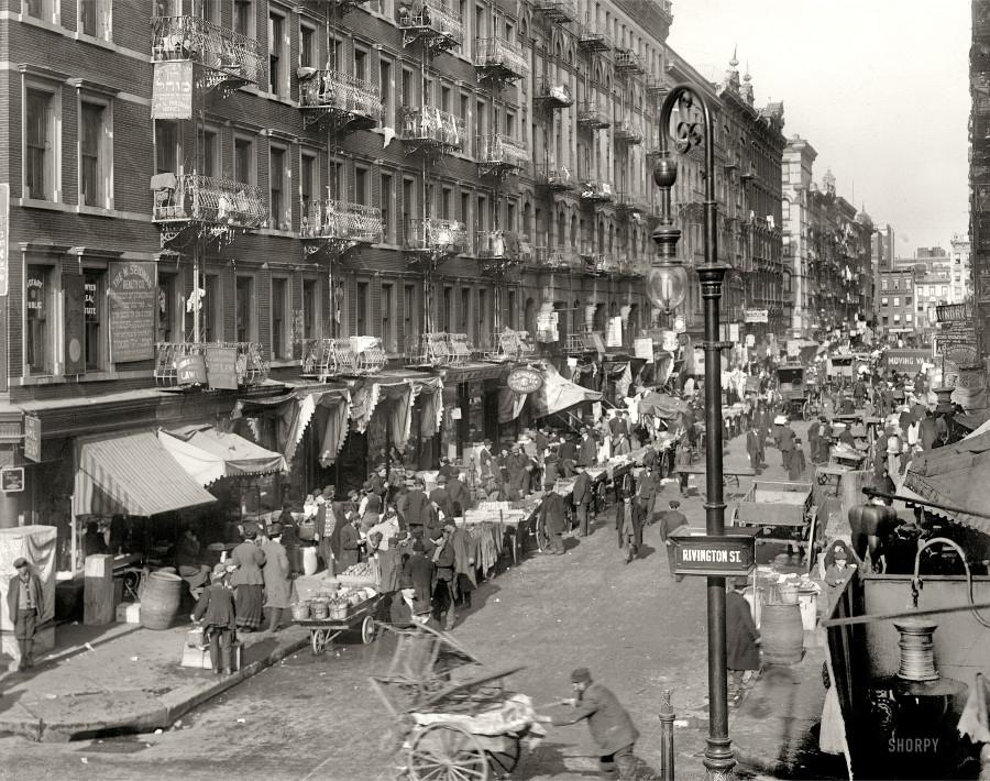 нижний ист сайд 1909