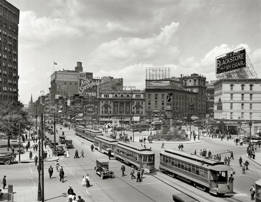 1917 Woodward-Avenue-Detroit-Michigan