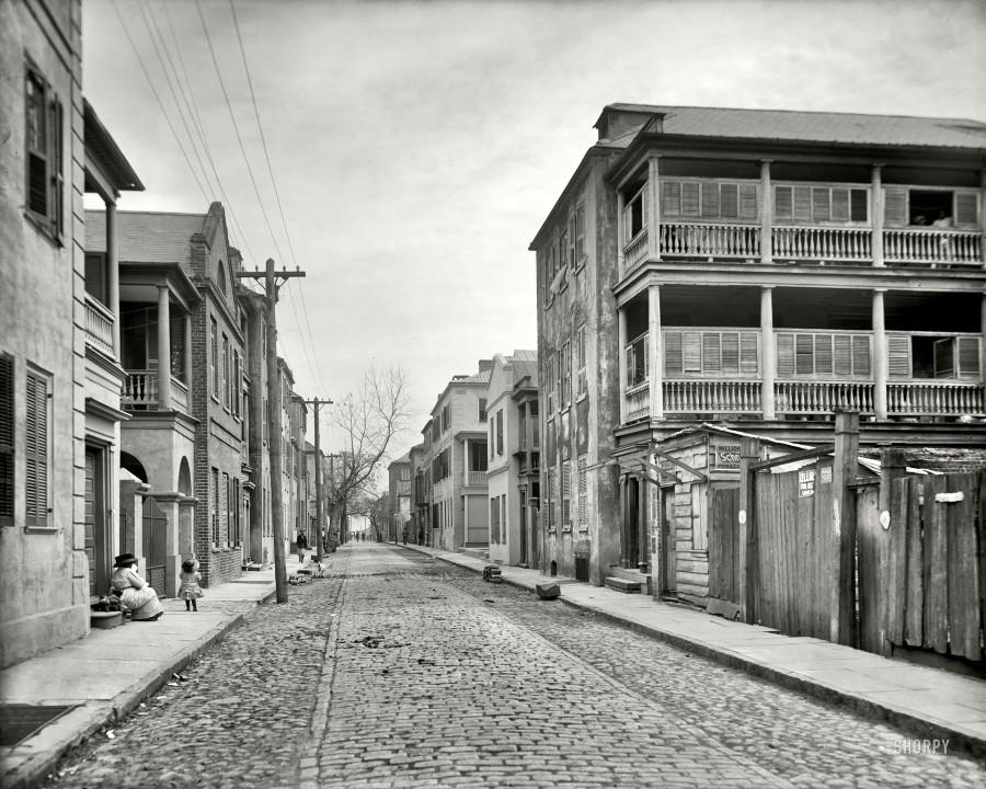 Tradd Street, Charleston, South Carolina, circa 19107
