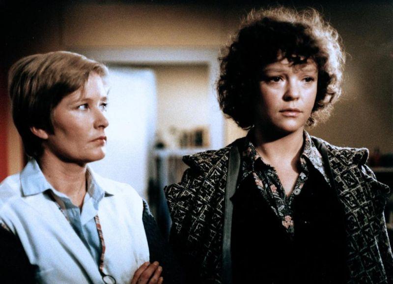 Katrin Saß в 1981 году в фильме Гарантия на один год
