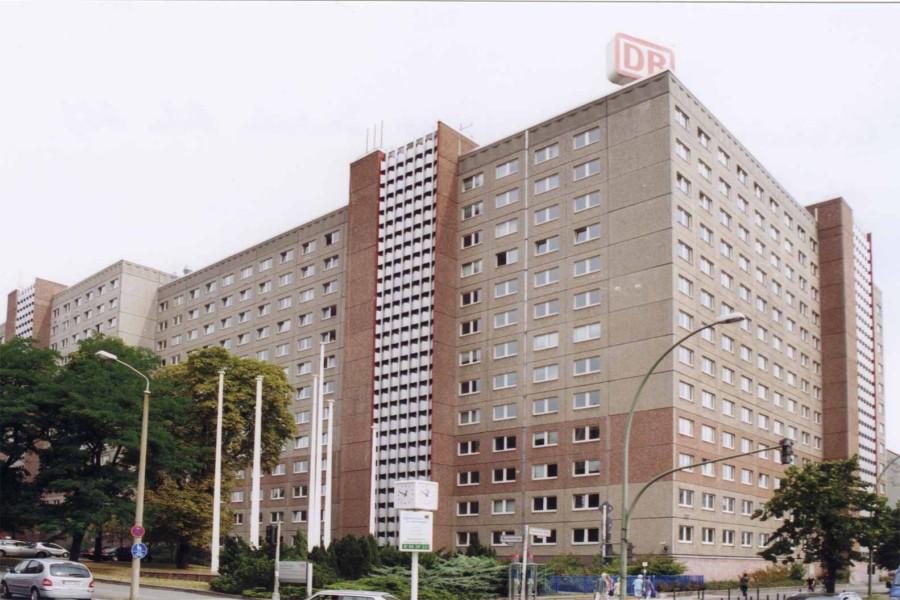 Штази комплекс в Берлин-Лихтенберг на Рушештрассе угол улицы Франкфуртер Аллее, д.15