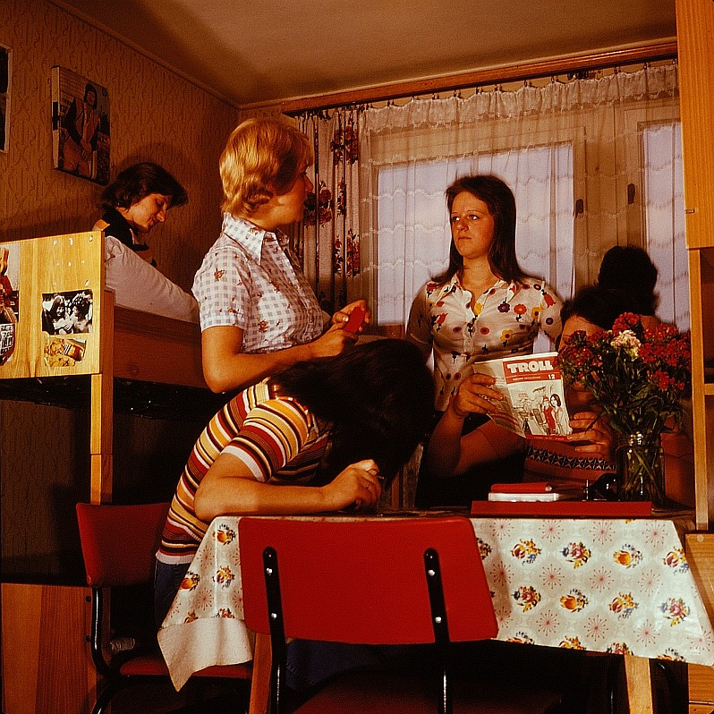 Общежитие в ГДР в 1977