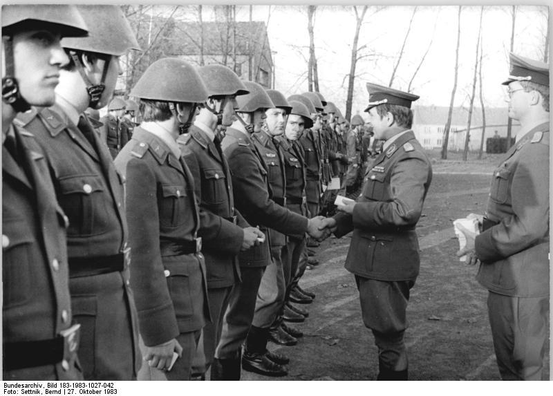 ГДР Национальная народная армия (11)