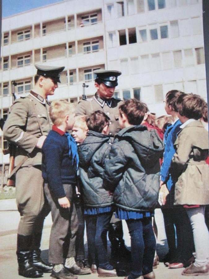 ГДР Национальная народная армия прээх
