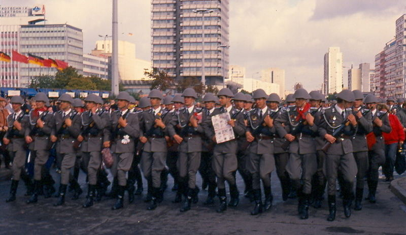 ГДР Национальная народная армия