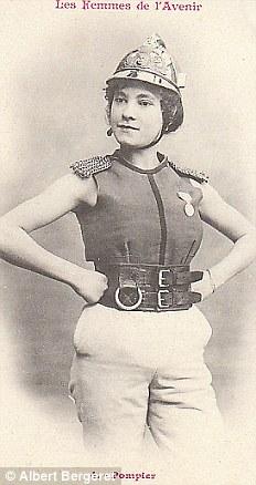 Пожарный. В этой профессии женщины стали появляться лишь после второй мировой войны