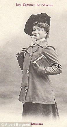 Студентка. Колледжи и среднеобразовательные заведения открылись для женщин в 1879 году