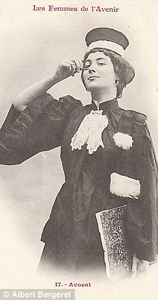 Адвокат. Женщины во Франции были допущены к юридической практике в 1900 году