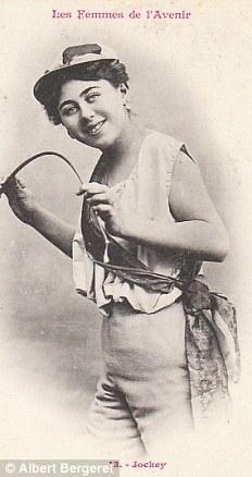 Жокей. Первые женщины-жокеи появились в 1920-х