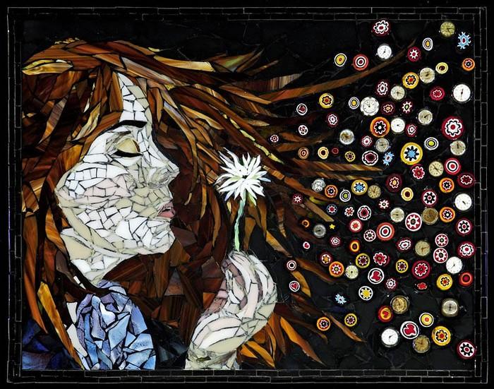 интересная мозаика Лоры Харрис (Laura Harris), художницы с рассеянным склерозом_1
