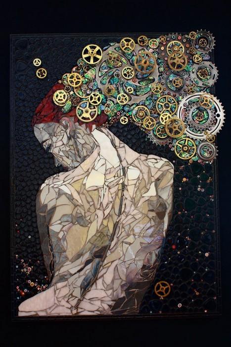 интересная мозаика Лоры Харрис (Laura Harris), художницы с рассеянным склерозом_2