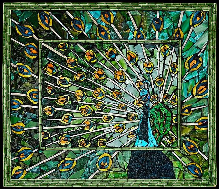 интересная мозаика Лоры Харрис (Laura Harris), художницы с рассеянным склерозом_4