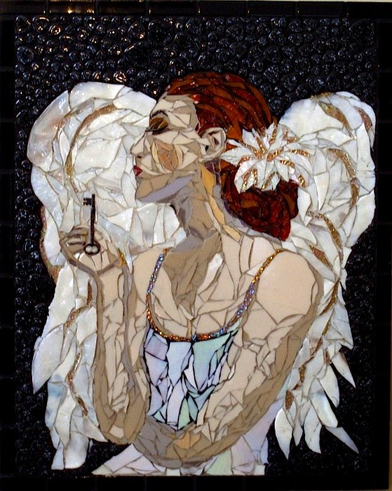 интересная мозаика Лоры Харрис (Laura Harris), художницы с рассеянным склерозом_5
