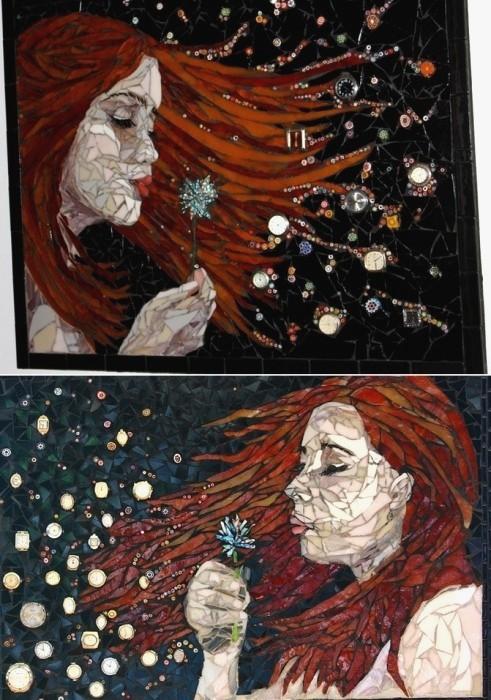 интересная мозаика Лоры Харрис (Laura Harris), художницы с рассеянным склерозом_6