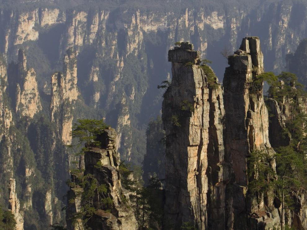 Каменный лес Улинъюаня