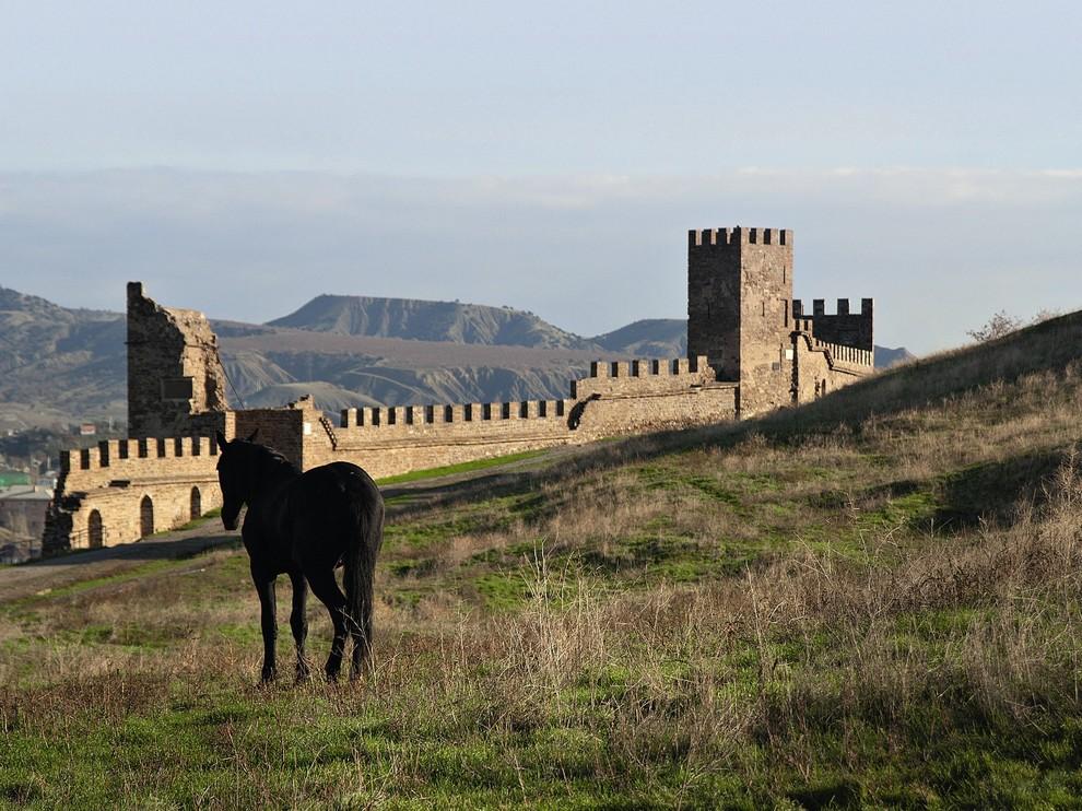 Генуэзская крепость, Крым