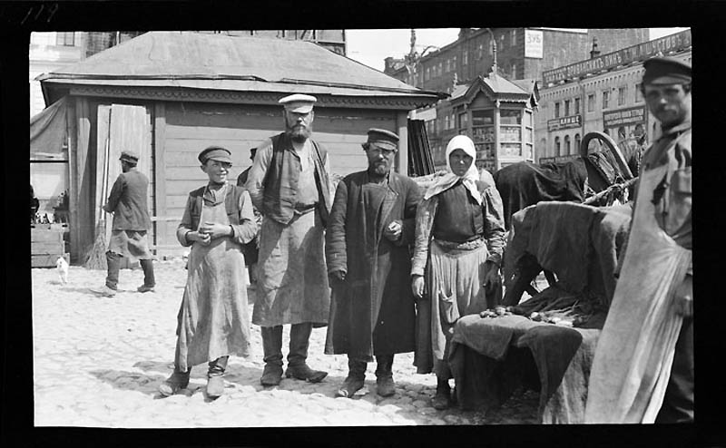 Москва. 1909г. фотографии от Мюррэй Хоув (Murray Howe)