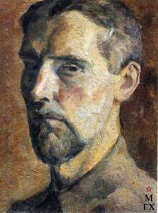 Чернышев (1885). автопортрет. 1922