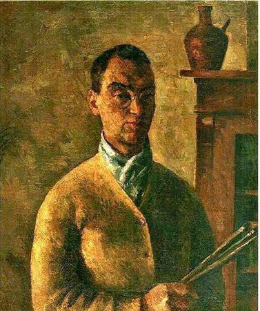 Фальк (1886). Автопортрет. 1924