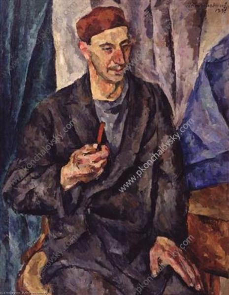 Федоров Герман. 1919 (Кончаловский)