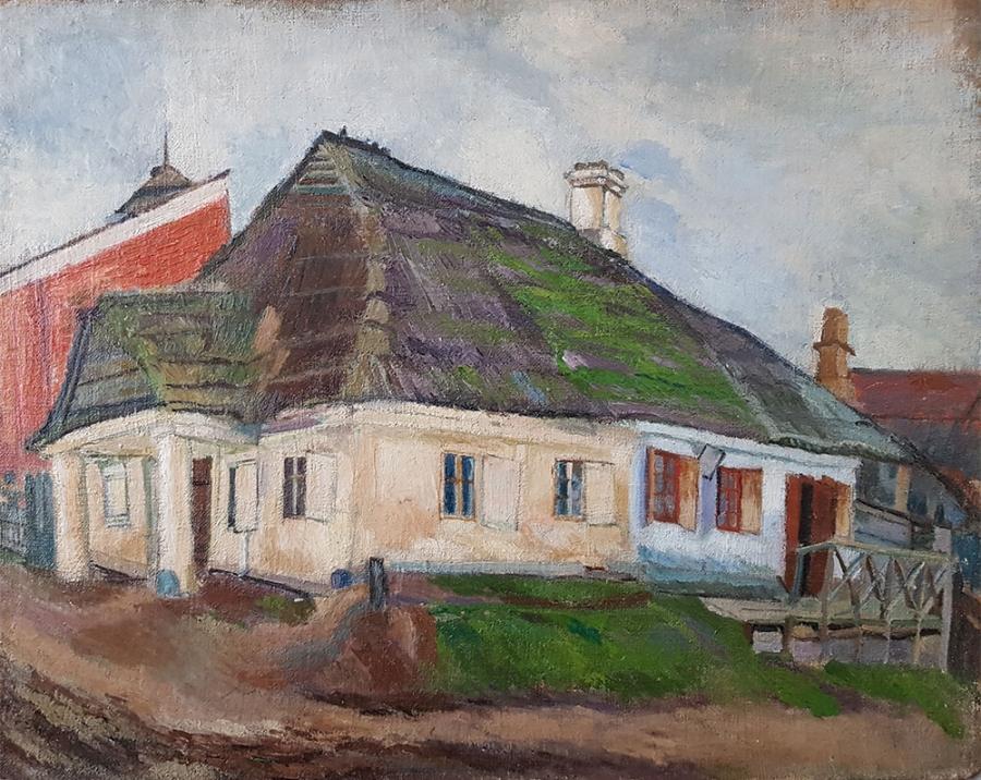 Перуцкий. Дом родителей. 1922