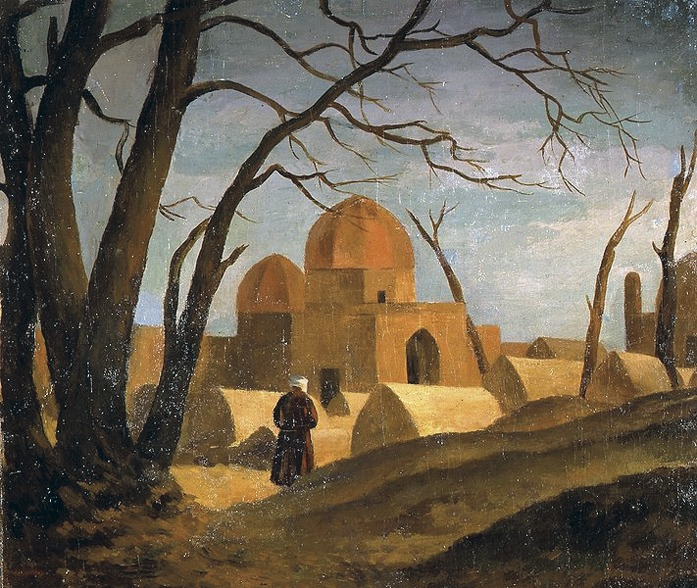 Нюренберг. Мечеть с мужской фигурой. 1923