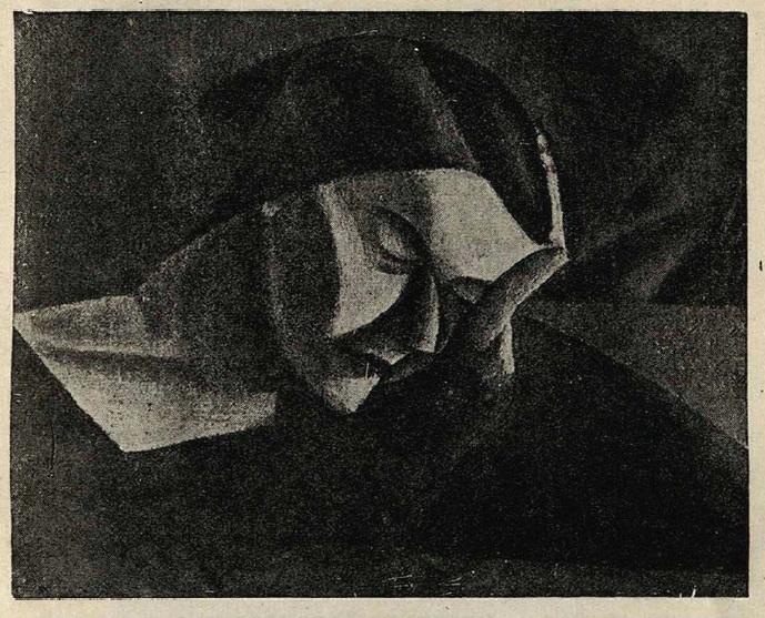 Ряжский. Спящая. 1918