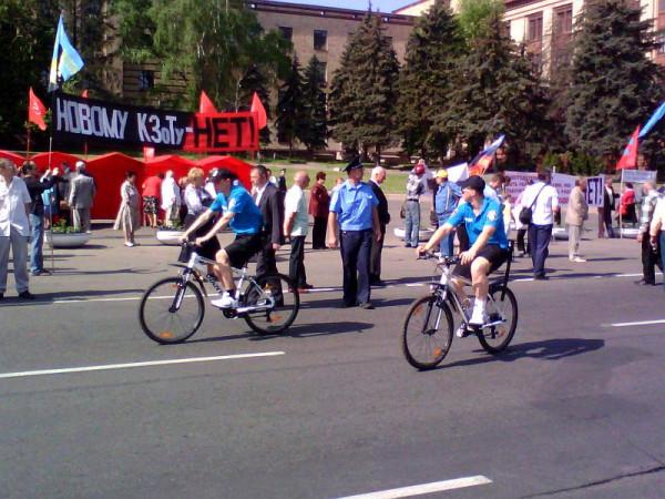 два велосипедных юнита