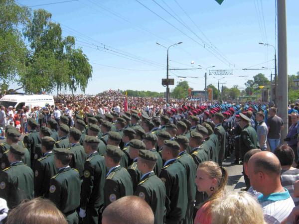 Перед парадом