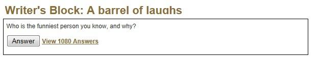 barrel of laughs