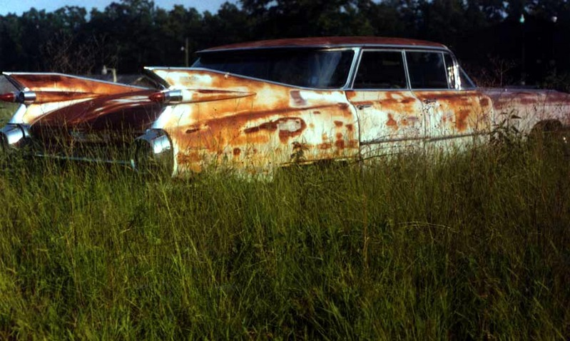 Rusted-Remainder-vintage-car
