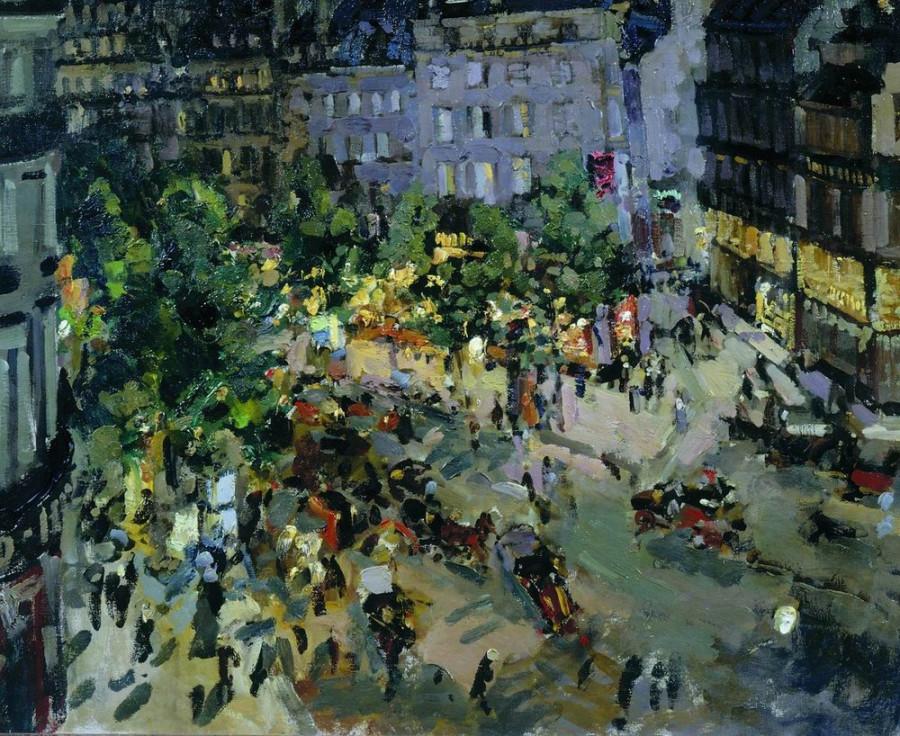 Париж. Бульвар Капуцинок. 1911