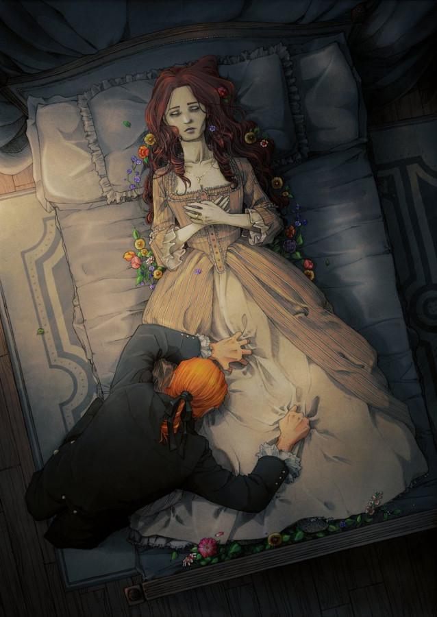 Марта Джефферсон - Её погребение