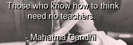 __no teachers