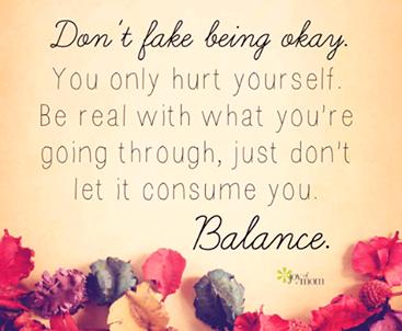 dont fake