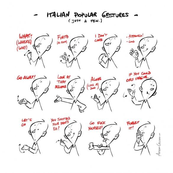 жесты итальянские 2