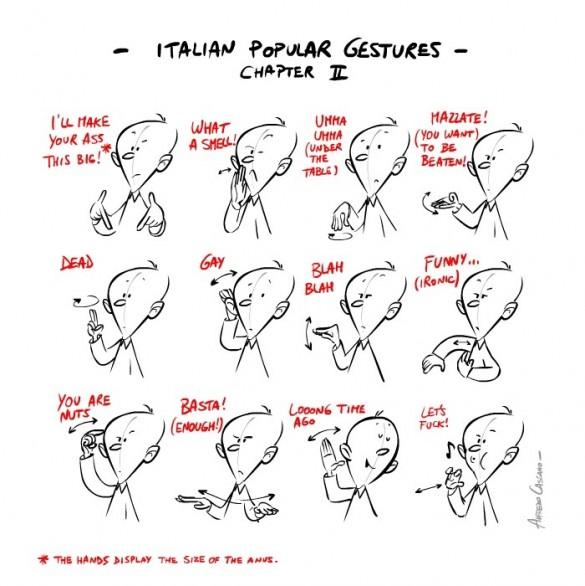 жесты итальянские 3