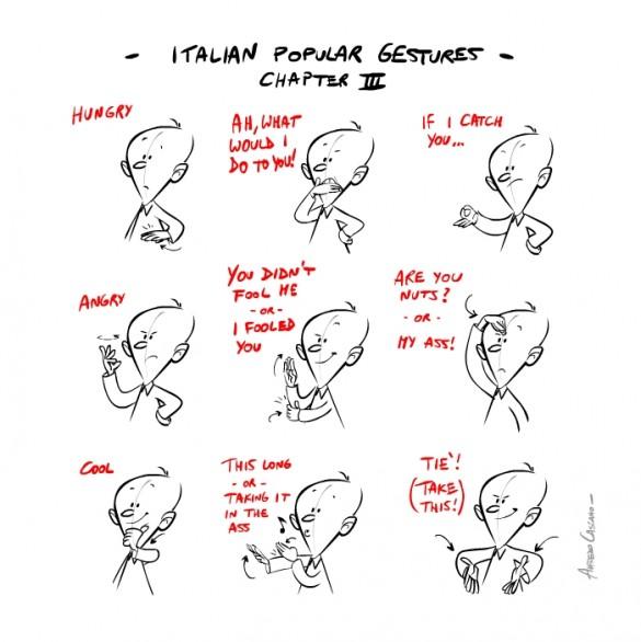 жесты итальянские 4