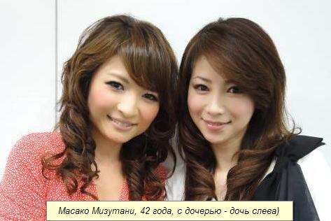 японки не стареют и толстеют