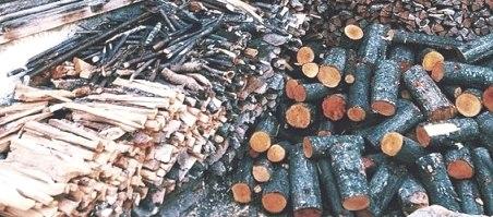 Заготовка, сушка, хранение дров