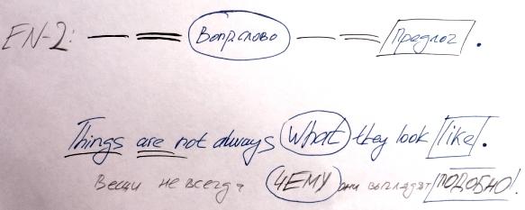 предлог и вопросительное слово в английском правило -