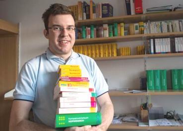 опыт студента-полиглота. Он владеет 36 языками, 15 из них, включая русский